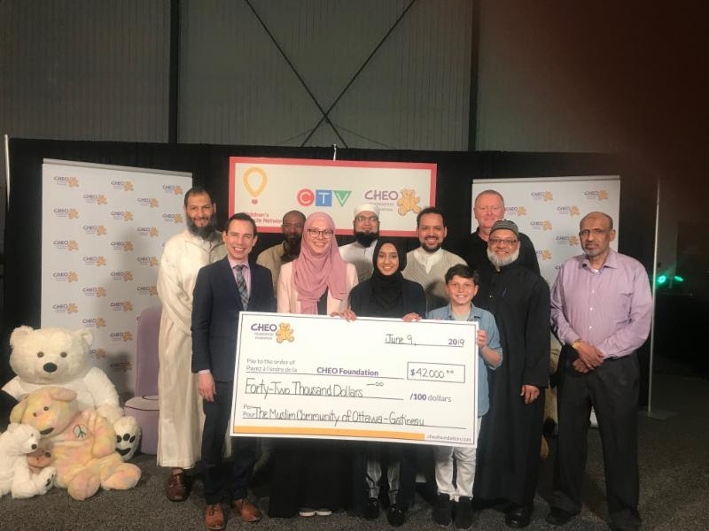 AMA community centre supports cheo telethon 2019
