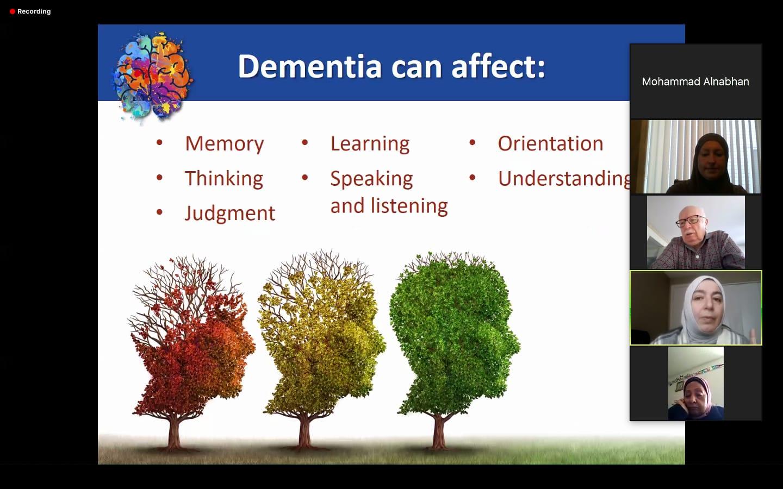 seniors virtual program dementia